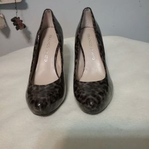 Franco Sarto Patent Leather Shoes Size 6.5